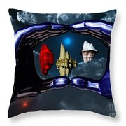Piece Of Space Throw Pillow