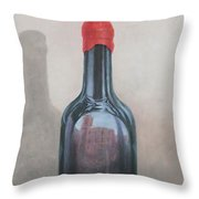 Pienza Reflection Throw Pillow by Lincoln Seligman