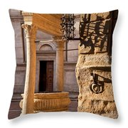 Pienza Tuscany Throw Pillow