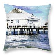 Pier 60 Throw Pillow