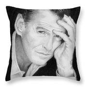 Pierce Brosnan Throw Pillow