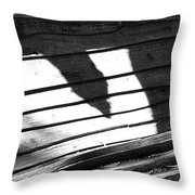 Pierced Shields Throw Pillow