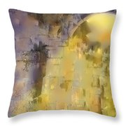 Piercing The Castle Walls Throw Pillow