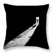 Piercing The Darkness Throw Pillow