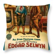 Pierre Of The Plains  Throw Pillow