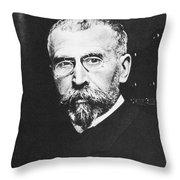 Pierre Paul Emile Roux Throw Pillow