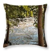 Piers Gorge Throw Pillow