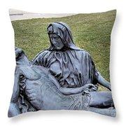 Pieta Throw Pillow