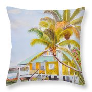 Pigeon Key - Home Throw Pillow