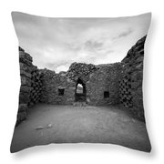 Pigeon Penthouse At Masada Throw Pillow