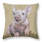 Piglet  Throw Pillow