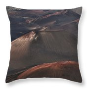 Pihanakalani Haleakala Volcano Sacred House Of The Sun Maui Hawaii Throw Pillow