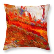 Pilbara Iron Ore Throw Pillow