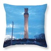 Pilgrim Tower Throw Pillow