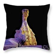 Pillar Of Gold - Bryce Canyon Throw Pillow