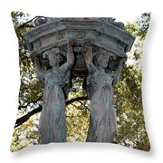 Pillars Of New Orleans Throw Pillow
