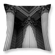 Pillars Of Strength Throw Pillow