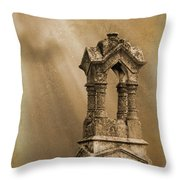 Pillars The Forgotten Series 07 Throw Pillow