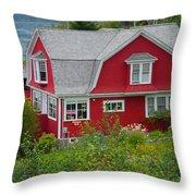 Pillsbury Guest House Throw Pillow