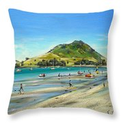 Pilot Bay Mt M 050110 Throw Pillow
