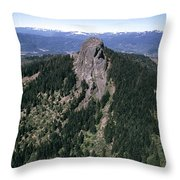 Pilot Rock Throw Pillow