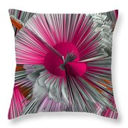 Pinache 3 Throw Pillow by Angelina Vick