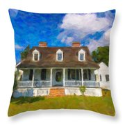Pinckney Nps Site Throw Pillow