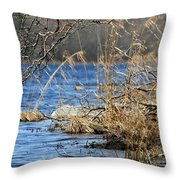 Pine Acres Lake Blues  Throw Pillow
