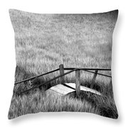 Pine Creek Bridge Throw Pillow