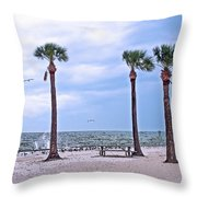 Pine Island Throw Pillow
