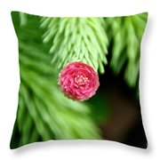 Pine Perfection Throw Pillow