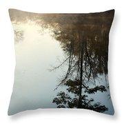 Pine Reflection Throw Pillow