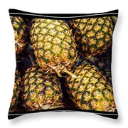 Pineapple Color Throw Pillow