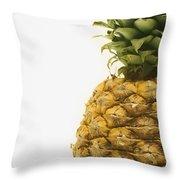 Pineapple Throw Pillow by Darren Greenwood