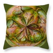 Pineapple Orb Throw Pillow