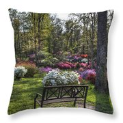 Pinecrest Gardens Throw Pillow