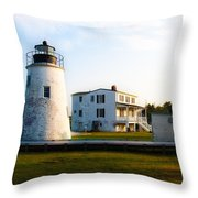 Piney Point Maryland Throw Pillow