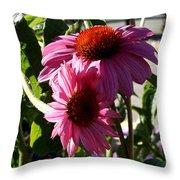 Pink 2 Throw Pillow