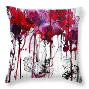 Pink 2 Throw Pillow