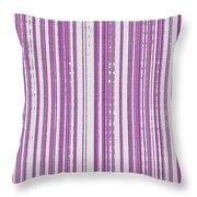 Pink And White Paper Throw Pillow