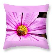 #pink Throw Pillow