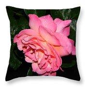 Pink Diamonds Throw Pillow