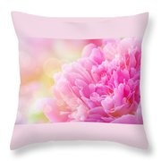 Pink Dream Throw Pillow
