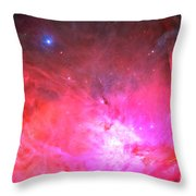 Pink Dreams Throw Pillow by Phill Petrovic