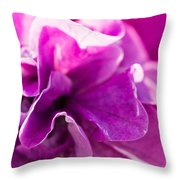 Pink - Featured 3 Throw Pillow