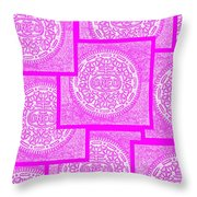 Pink Oreos For The Cure Throw Pillow