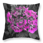 Pink Paridise Throw Pillow