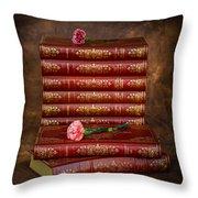 Pink Peonies 1 Throw Pillow