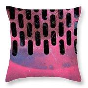 Pink Perfed Throw Pillow