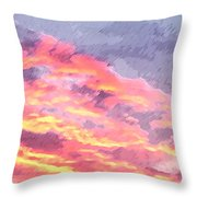 Pink Promise Throw Pillow